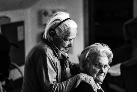 Massage-Therapie für Senioren